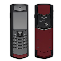Vertu Signature S Design Pure Black PVD Red Leather (Финляндия)