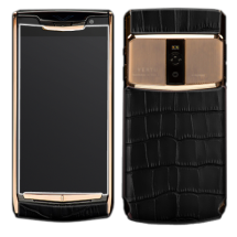 Новый Vertu Signature Touch Jet Gold Black Crocodile EXCLUSIVE