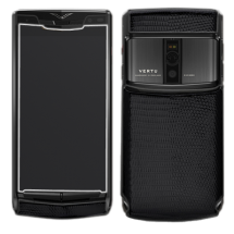Новый Vertu Signature Touch Pure Black Iguana Leather EXCLUSIVE