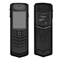 Vertu Signature S Design Pure Black Ultimate Crocodle (Финляндия)