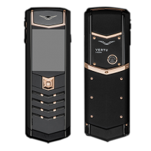 Vertu Signature S Design Pure Black Gold Ultimate (Финляндия)
