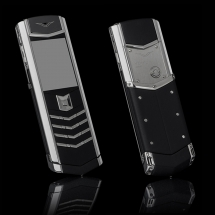 Vertu Signature S Design Steel Ultimate Black Leather EXCLUSIVE
