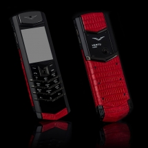 Vertu Signature S Design Steel Red Piton EXCLUSIVE
