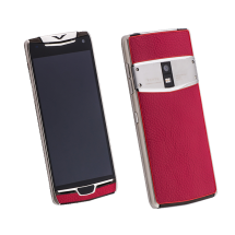 Vertu Constellation X Pink Leather Exclusive  фото