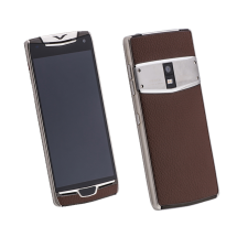 Vertu Constellation X Brown Leather Exclusive
