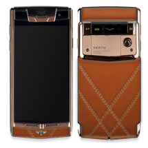 Vertu Signature Touch Gold For Bentley Brown Leather EXCLUSIVE