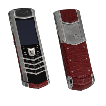 Vertu Signature S Design Steel Red Corocodile EXCLUSIVE
