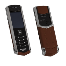 Vertu Signature S Design Steel ULTIMATE For Bentley Brown Leather EXCLUSIVE