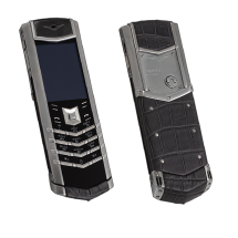 Vertu Signature S Design Steel Grey Corocodile EXCLUSIVE