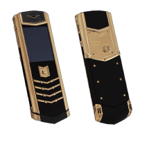 Vertu Signature S Design Gold Ultimate Black Leather EXCLUSIVE
