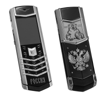 Vertu Signature S Design Stainless Steel Ultimate Russian Bear Exclusive