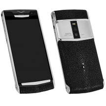 Новый Vertu Signature Touch Steel Black Stingray Leather