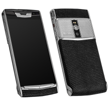 Новый Vertu Signature Touch Clous De Paris Steel Black Iguana EXCLUSIVE
