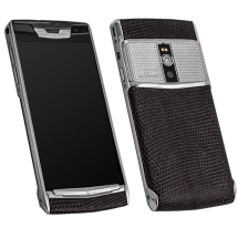 Новый Vertu Signature Touch Clous De Paris Steel Brown Iguana EXCLUSIVE