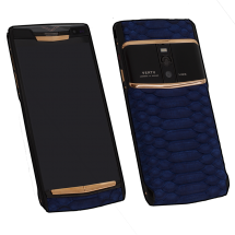 Новый Vertu Signature Touch Pure Black Gold Blue Piton Exclusive