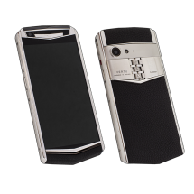 Vertu Aster P Stainles Steel Black Leather Exclusive