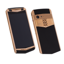 Vertu Aster P Stainles Pure Black PVD Leather Exclusive