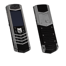 Vertu Signature S Design Stainless Steel Iguana Leather (ENG)