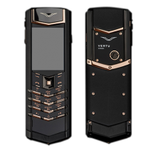Vertu Signature S Design Pure Black Gold (Финляндия)