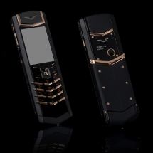 Vertu Signature S Design Pure Black Gold EXCLUSIVE