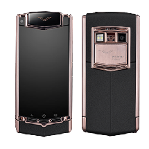 Vertu Ti Android Gold Black Leather EXCLUSIVE