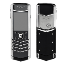 Vertu Signature S Design Steel Black Leather (Финляндия)