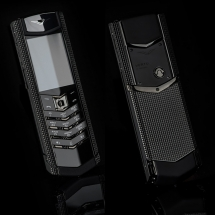 Vertu Signature S Design Clous De Paris Pure Black EXCLUSIVE