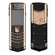 Vertu Signature S Design Gold Black Leather (Финляндия)