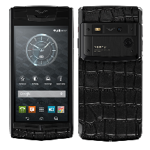 Vertu Signature Touch Pure Jet Alligator EXCLUSIVE