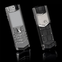 Vertu Signature S Design Steel Black Crocodile EXCLUSIVE