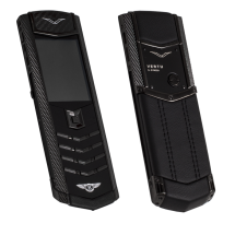 Vertu Signature S Design Pure Black For Bentley EXCLUSIVE