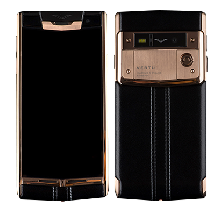Vertu Signature Touch Gold Black Leather EXCLUSIVE