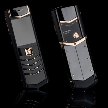 Vertu Signature S Design Gold Black DLC EXCLUSIVE