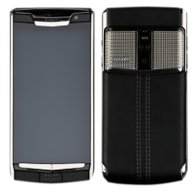 Новый Vertu Signature Touch Clous De Paris Jet Calf EXCLUSIVE