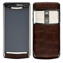 Новый Vertu Signature Touch Jet Brown Alligator EXCLUSIVE
