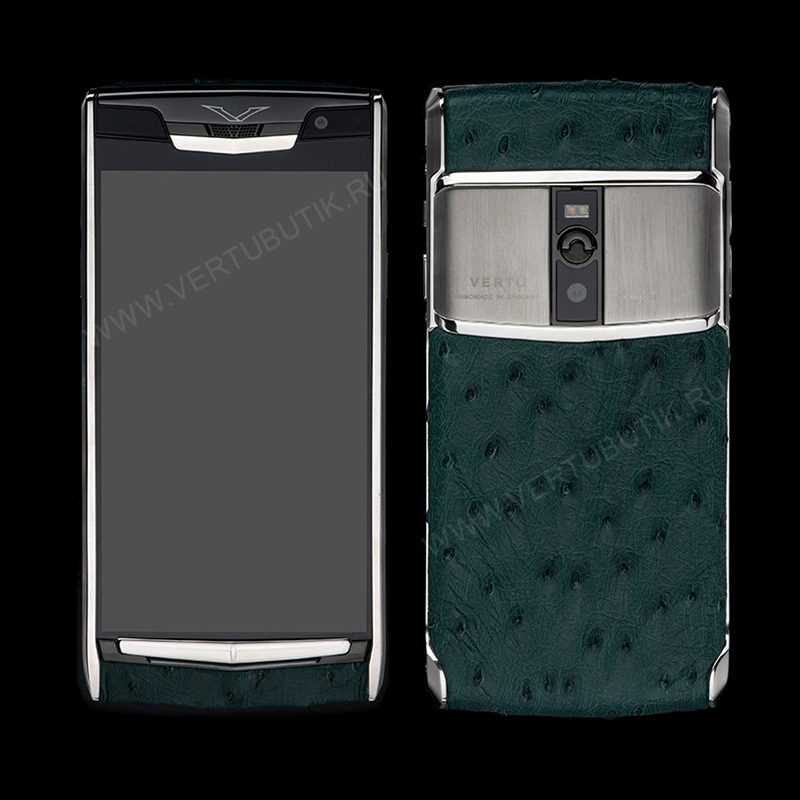 Новый Vertu Signature Touch Green Ostrich EXCLUSIVE фото