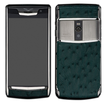 Новый Vertu Signature Touch Green Ostrich EXCLUSIVE