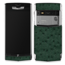 Vertu Signature Touch Jet Green Ostrich EXCLUSIVE