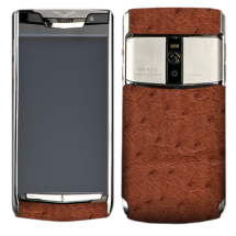 Новый Vertu Signature Touch Brown Ostrich EXCLUSIVE